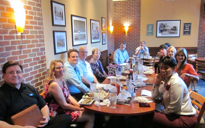 Connections Grous Leads Group at O'Charleys